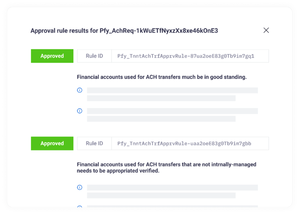 Productfy fintech app compliance approval rules